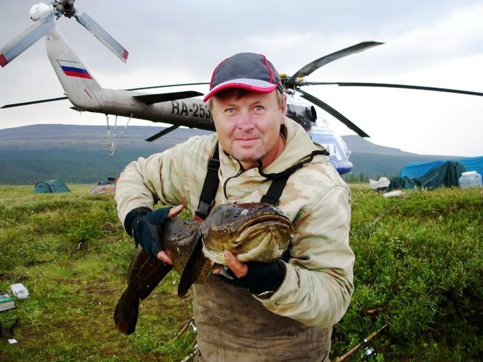 видео рыбалка в эвенкии