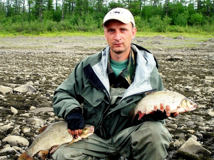 эвенкия река котуй рыбалка
