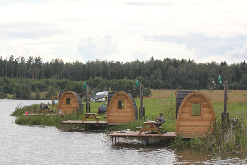 проект пруда для платной рыбалки