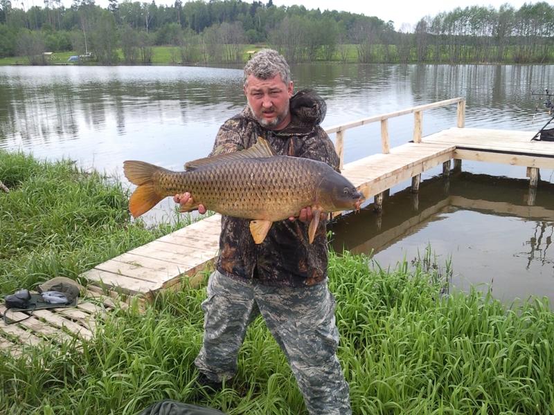 Рыболовная база «Велинка» в Дьяково