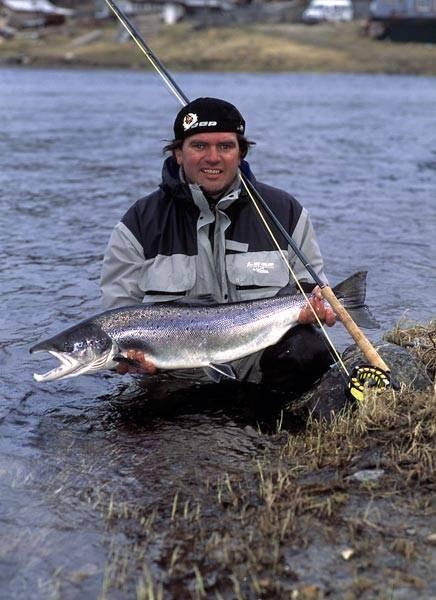 рыбалка река белая ненецкий